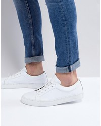Baskets basses blanches Jack & Jones