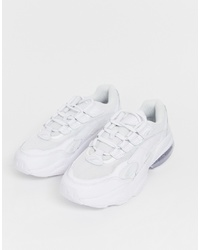 Baskets basses blanches Puma