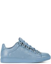 Baskets basses bleu clair Balenciaga