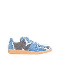 Baskets basses bleu clair Maison Margiela