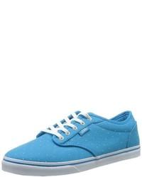 Baskets basses bleu clair Vans
