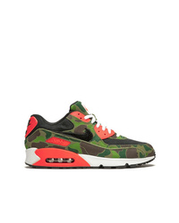 Baskets basses camouflage multicolores Nike