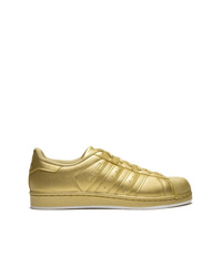 Baskets basses dorées adidas