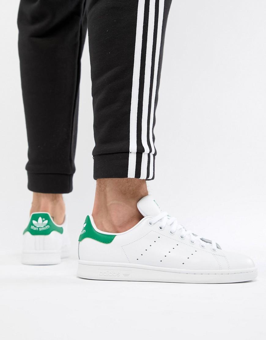 Baskets basses en cuir blanches adidas Originals