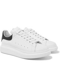 Baskets basses en cuir blanches Alexander McQueen