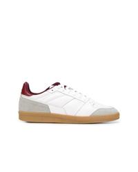 Baskets basses en cuir blanches AMI Alexandre Mattiussi