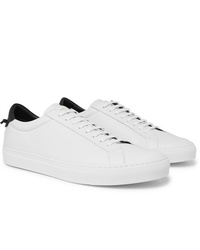 Baskets basses en cuir blanches Givenchy