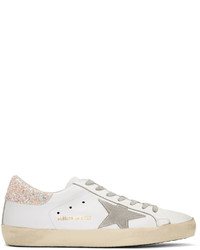 Baskets basses en cuir blanches Golden Goose Deluxe Brand