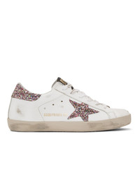 Baskets basses en cuir blanches Golden Goose