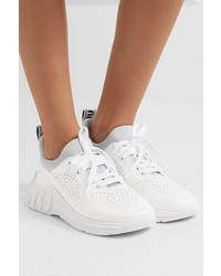 Baskets basses en cuir blanches Miu Miu