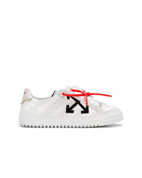 Baskets basses en cuir blanches Off-White
