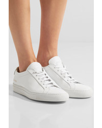 Baskets basses en cuir blanches Common Projects