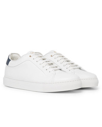 Baskets basses en cuir blanches Paul Smith