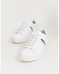 Baskets basses en cuir blanches PS Paul Smith