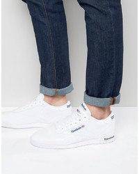 Baskets basses en cuir blanches Reebok