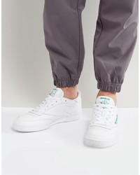 Baskets basses en cuir blanches Reebok