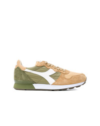 Baskets basses en cuir multicolores Diadora