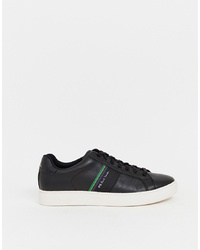 Baskets basses en cuir noires PS Paul Smith