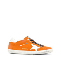 Baskets basses en toile jaunes Golden Goose Deluxe Brand