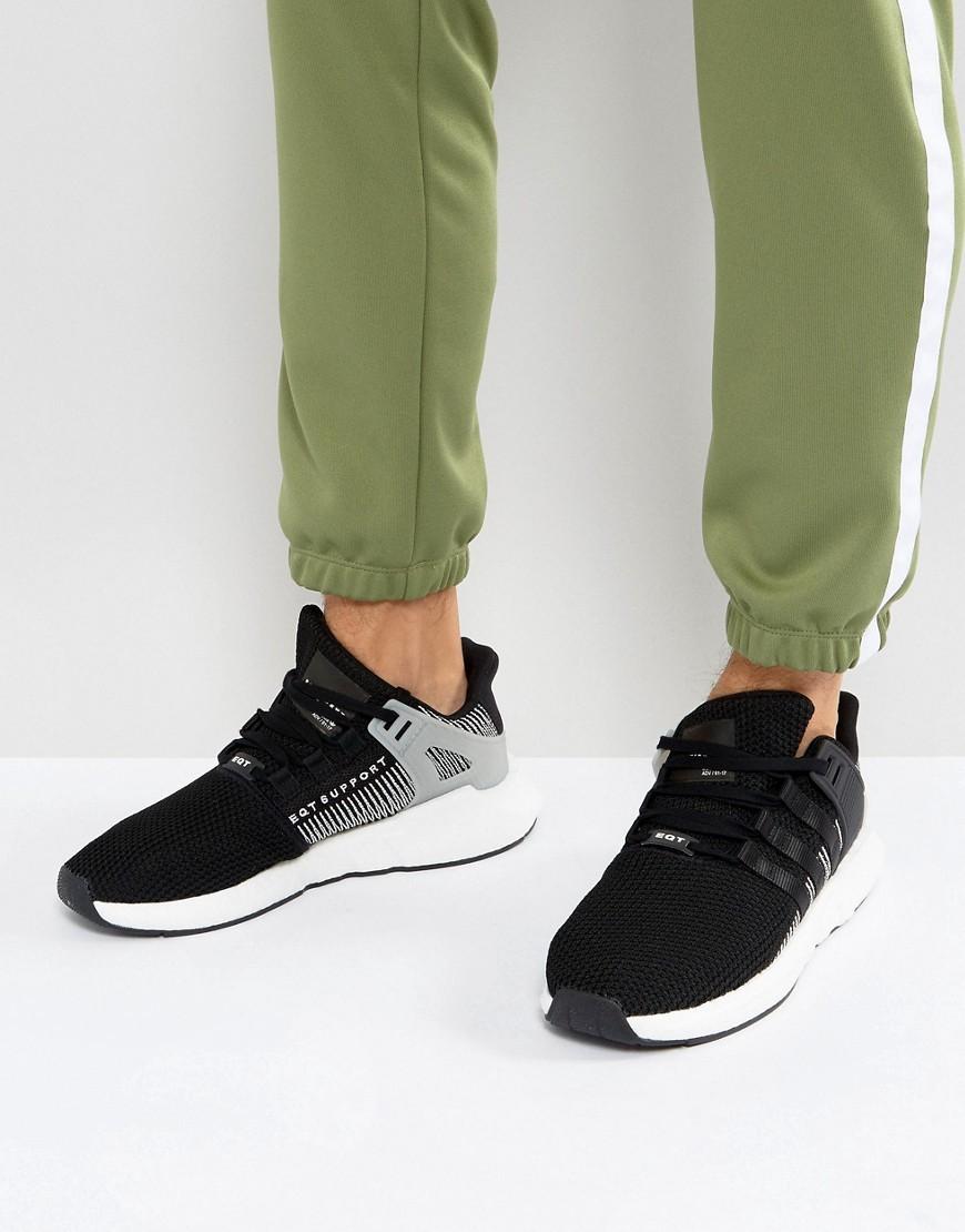 Baskets basses en toile noires adidas Originals