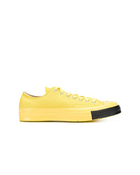 Baskets basses jaunes Converse
