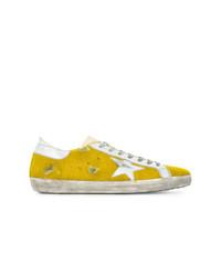 Baskets basses jaunes Golden Goose Deluxe Brand