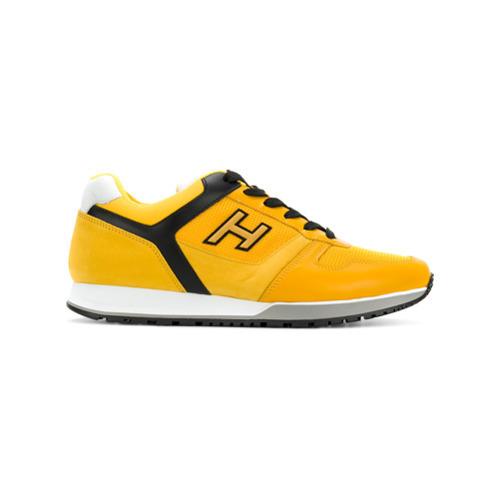 Baskets basses jaunes Hogan