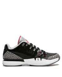 Baskets basses noires et blanches Nike