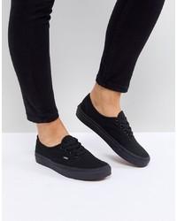 Baskets basses noires Vans