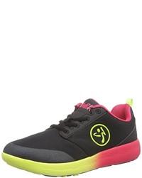 Baskets basses noires Zumba Footwear