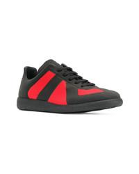 Baskets basses rouge et noir