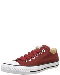 Baskets basses rouges Converse