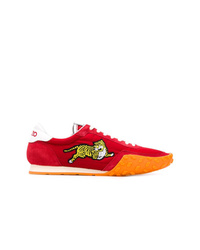 Baskets basses rouges Kenzo