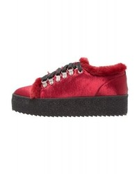 Baskets basses rouges Shellys London