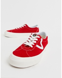 Baskets basses rouges Vans