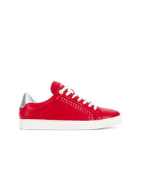 Baskets basses rouges Zadig & Voltaire