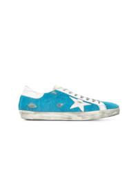 Baskets basses turquoise Golden Goose Deluxe Brand