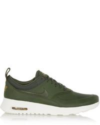 Baskets basses vert foncé Nike
