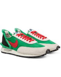 Baskets basses vertes Nike