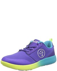 Baskets basses violettes Zumba Footwear