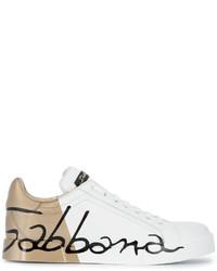 Baskets blanches Dolce & Gabbana