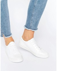 Baskets blanches Glamorous