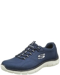 Baskets bleu marine Skechers