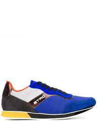 Baskets bleues Etro