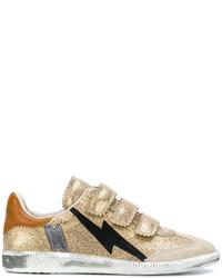 Baskets dorées Isabel Marant