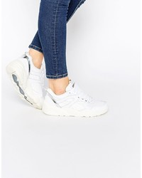 on sale e6b96 6ea06 Baskets en cuir blanches Puma