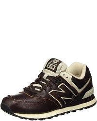 Baskets marron foncé New Balance