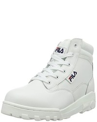 Baskets montantes blanches Fila