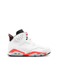 Baskets montantes blanches Jordan
