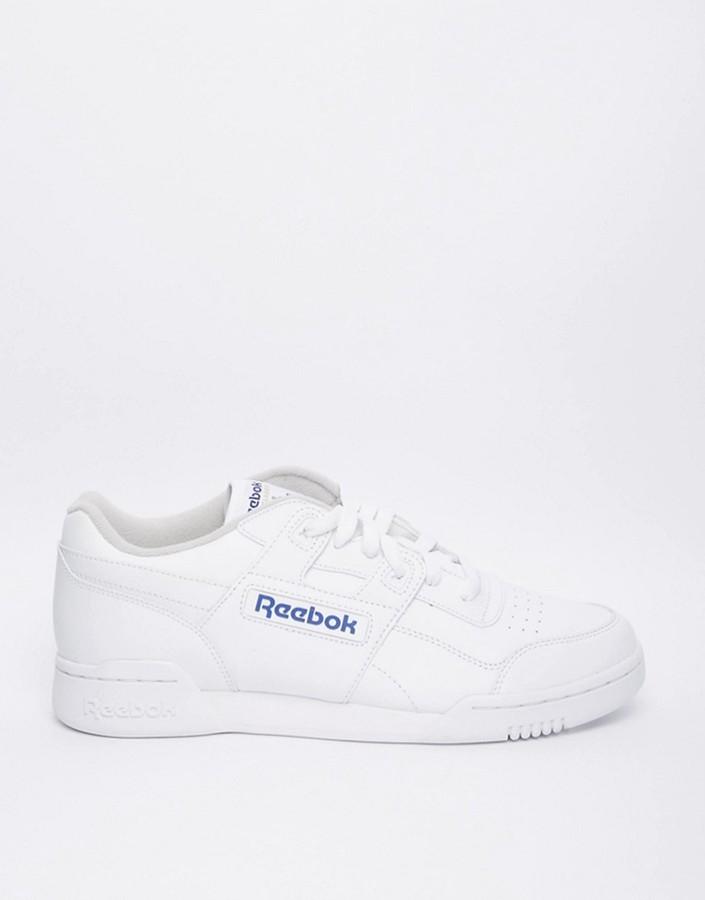 Baskets montantes blanches Reebok